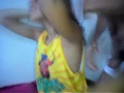 Novinha safadinha filmando seu video porno peladinha