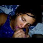 Filmou porno novinha brasileira pagando boquete