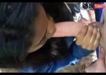 Estudante pagando boquete caiu na net