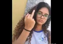 Uma novinha mais gostosa do Brasil caiu na net